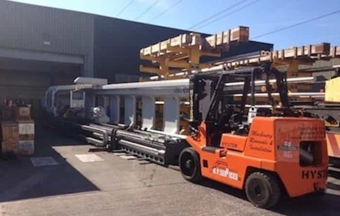 Machinery Relocation - DP Services